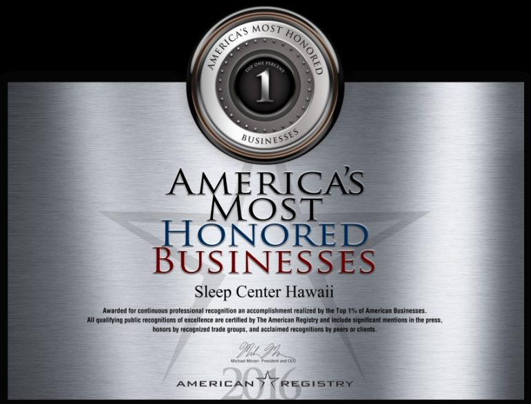 America's Most Honored Businesses 2016
