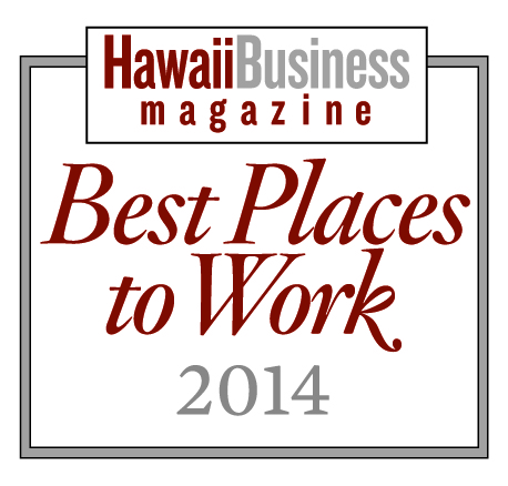 Best Places to Work 2014, Hawaii Business Magazine