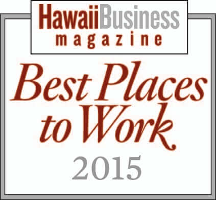 Best Places to Work 2015, Hawaii Business Magazine