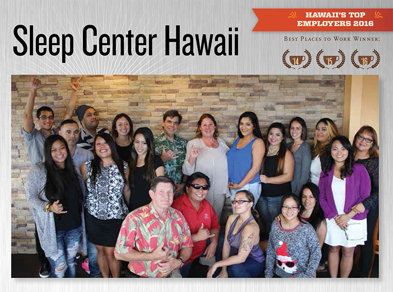 Hawaii's Top Employers - Best Places to Work 2014, 2015, 2016