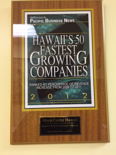 Hawaii's 50 Fastest Growing Companies 2012